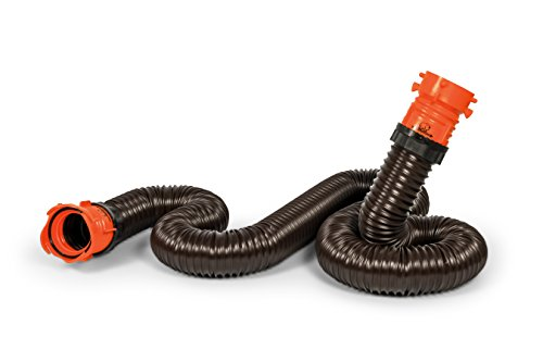 Camco RhinoFLEX Heavy Duty 10ft RV Sewer Hose Extension Kit with Swivel Fitting – Extends Your Sewer Hose to Fit Your Needs (39764)