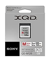 Sony 128gb Xqd Memory Card M Series (Up To 440mbs Read) Wfile Rescue Software