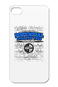 Pat Blue TPU Navy Miscellaneous Sports For Iphone 4/4s Case