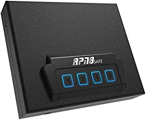 Portable Security Safe, Quick-Access Dual Firearm Safety Device