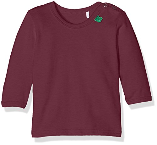 Fred's World by Green Cotton Baby-Mädchen Bluse Alfa L/Sl T Baby, Rot (Wine 019231506), 86