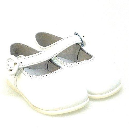 Zapatos 10318 Bailarinas Pasos Primeros Merceditas Blanco Txq0vT