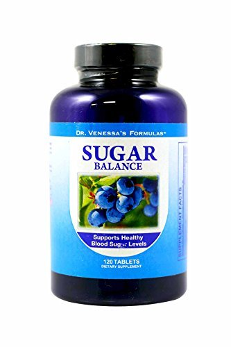 - Dr. Venessa's Formulas Sugar Balance Support, 120 Count