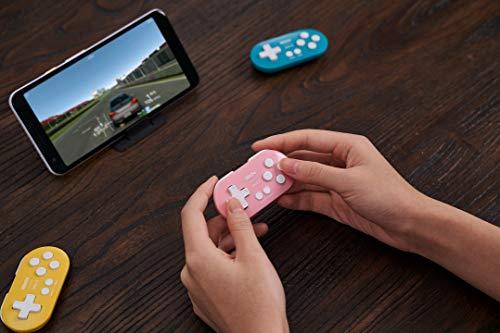 8Bitdo Zero 2 Bluetooth Gamepad(Pink Edition) - Nintendo Switch
