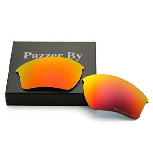 Polarized Replacement Lenses for Oakley Half Jacket 2.0 XL - Orange Red Mirrored - Oakley Polarized Lenses Replacement Half Jacket