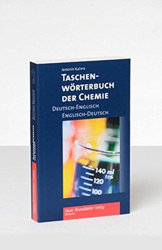 Taschenwörterbuch der Chemie. Deutsch-Englisch / Englisch-Deutsch