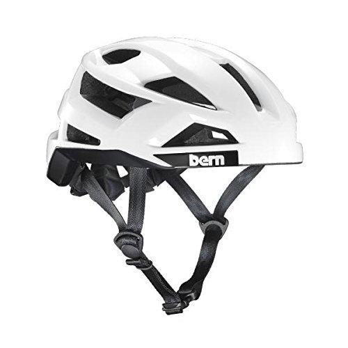 Cheap Bern FL-1 Libre Helmet – Gloss White Medium