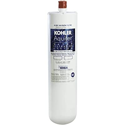 Kohler K-201 Aquifer High-flow Refill Filter Cartridge,