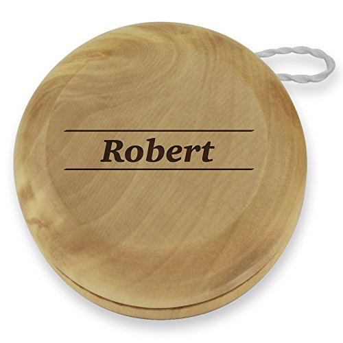 Dimension 9 Robert Classic Wood YoYo with Personalized Laser Engraving