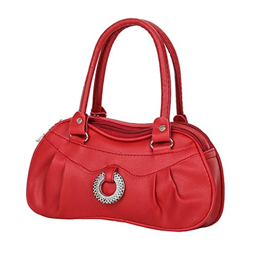 Handbag Tote Vintage Purse Shoulder Red Ladies Pure Women Handbag Women Retro Bag Purple Fashion Color C4q0wgxwH