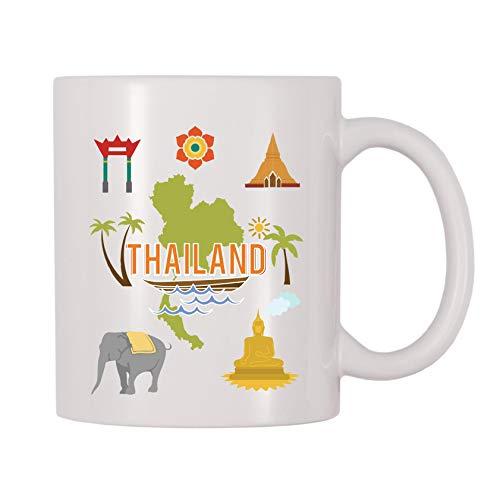 4 All Times Thailand Coffee Mug (11 oz)