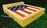 US Flag Backboard Washer Boards