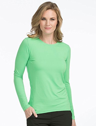 Activate by Med Couture Women's 8499 Performance Long Sleeve Underscrub Tee- Clover- 3X-Large from Med Couture