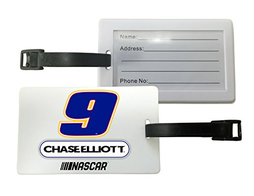 Chase Elliott #9 Luggage Tag