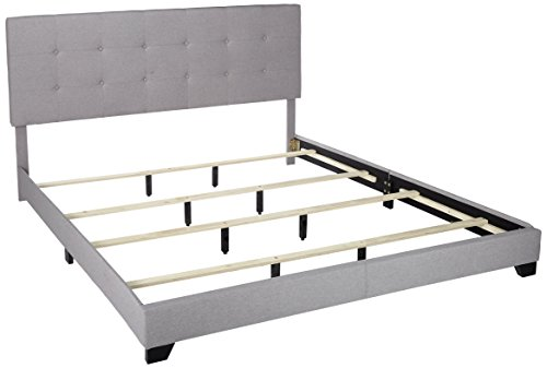 Low Footboard - Pulaski DS-A125-291-113 B01MG3GH05 Bed, King, Grey