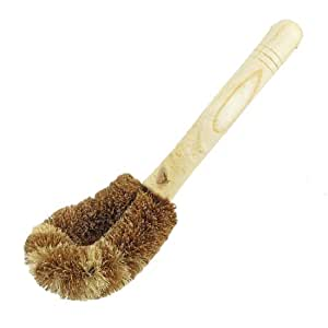 Wooden Handle Pan Pot Spoon Cleaning Brush Cleaner