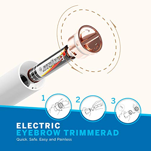 Pulchrie Eyebrow Hair Remover, High Precision Eyebrow Razor for Women, Safe, Painless Eyebrow Trimmer, Great for Shaping Eyebrows