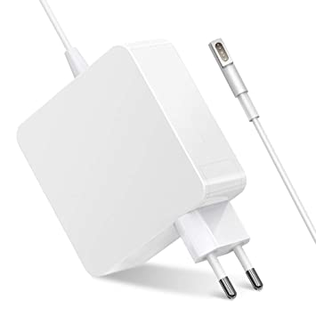 Epilum 60W MagSafe 1 Adaptador de Corriente para MacBook Pro Forma de L para Macbook Pro 13