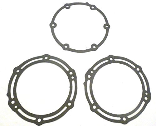 (M-G 330395-3 Exhaust Pipe D plate Gaskets for Yamaha Gp1200R, 1200-R Xlt 200r)