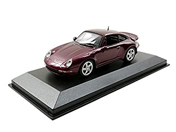 maxi Champ scan 1/43 Porsche 911 Turbo S (993) 1997 Red