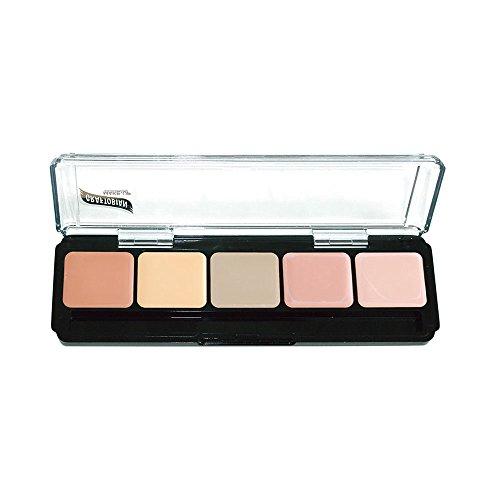 - HD Glamour Creme Palette, Corrector Light