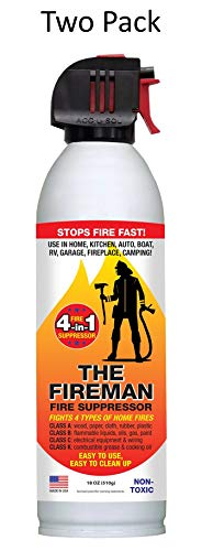 (THE FIREMAN Multi-Purpose Fire Extinguishing Suppressant Spray: UL APPROVED