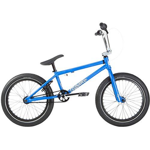 Fit 2019 BMX Eighteen Matte Blue Complete Bike
