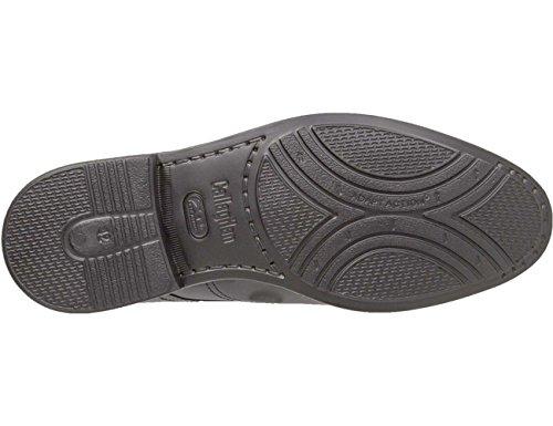 Callaghan Lite, Zapatos de Cordones Brogue para Hombre Negro (Black)
