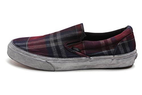 6b8e957aab19de Vans Mens Classic Slip-On Ca (Overwashed) Port Royal Bcdc VN-0IL5GK6 10 -  Buy Online in UAE.