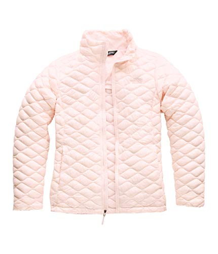 (The North Face Women's Thermoball Jacket, Pink Salt, Size L)