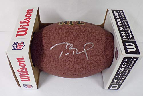 Tom Brady Signed Full Size NFL Football from Unreal Candy Co Promotion