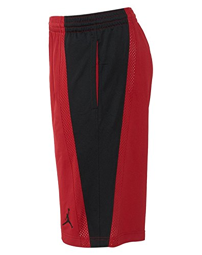 [642321 – 689] Air Jordan Baseline Short Apparel pantaloncini Air Jordanred Blackm