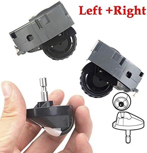 Kit de aspiradora para Roomba iRobot 980 960 890 880 860 805 Rueda Izquierda Derecha: Amazon.es: Hogar