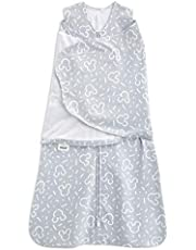 HALO 2192 SleepSack 100-Percent Cotton Swaddle Newborn Navy Pin Dot
