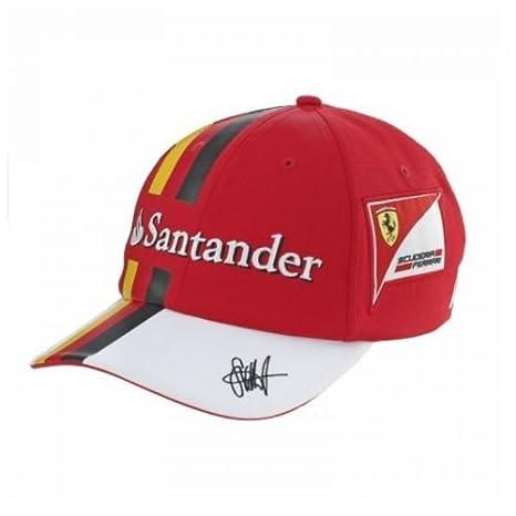 ORIGINALE FERRARI Cap cappello berretto da baseball Scuderia Ferrari  Sebastian Vettel Replica 2017 a56d250ec4c4