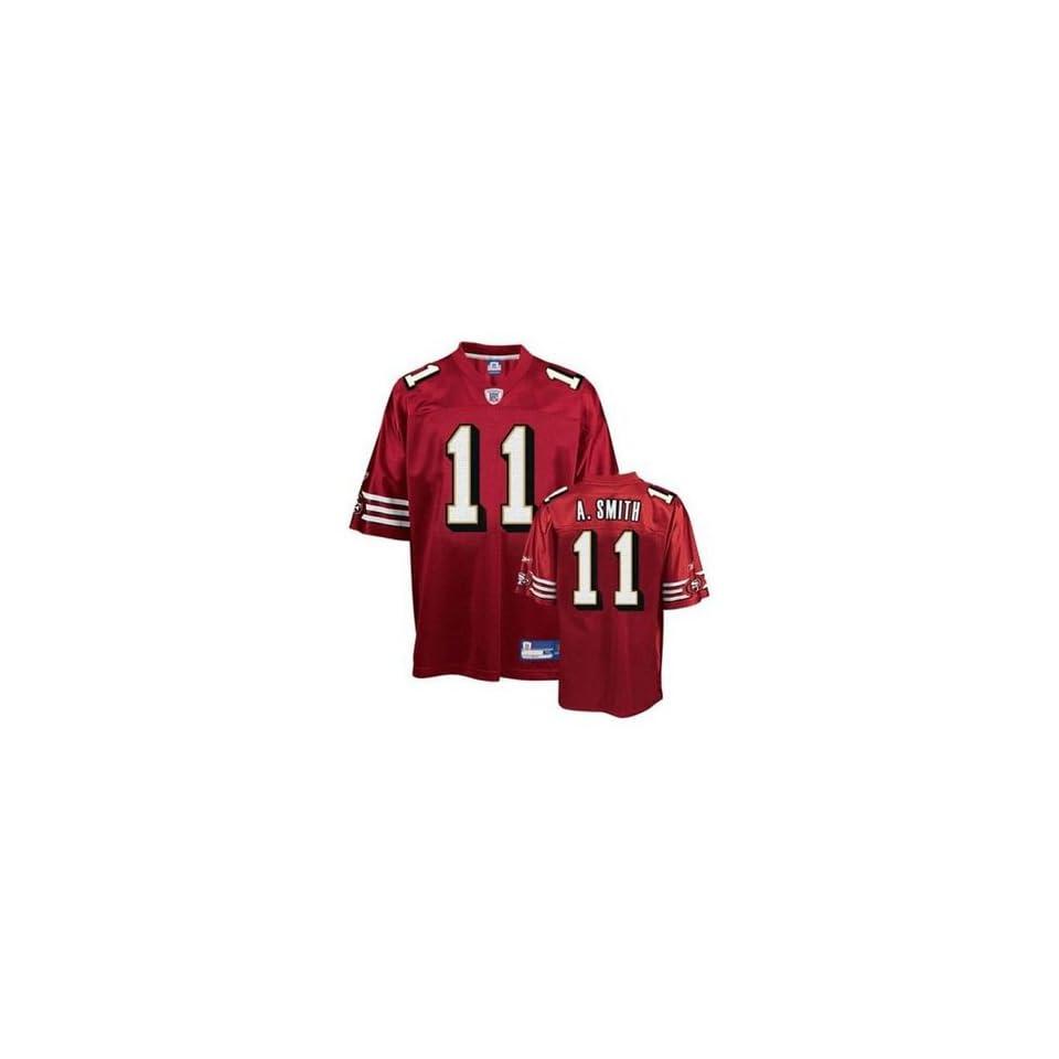 Reebok San Francisco 49ers Alex Smith Replica NFL Jersey