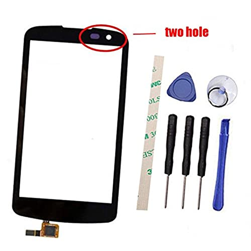 b46ecaa14a3f6 Two Hole Digitizer Touch Screen Replacement For LG K4 l44vl l43al ...
