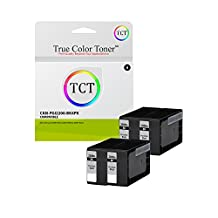 True Color Toner PGI-2200 Black 2200BK 4 Pack High Yield Compatible Ink Cartridge Replacement for Canon Maxify MB5020 iB4120 MB5320 MB5420 MB5120 iB4020 Printers (2,500 Pages)