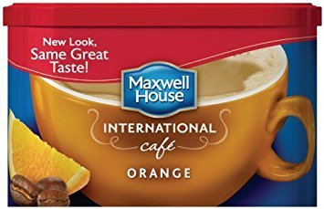 Maxwell House International Coffee Orange Cafe, 9.3-ounce Container, (Pack of 3) from MAXWELL HOUSE