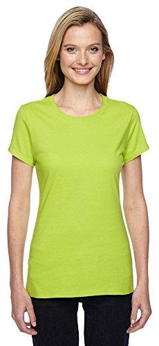 Fruit of the Loom Ladies' 4.7 oz. 100% SofspunTM Cotton Jersey Junior Crew T-Shirt