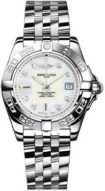 Breitling Windrider Galactic 32 Ladies Watch A71356L2/A708