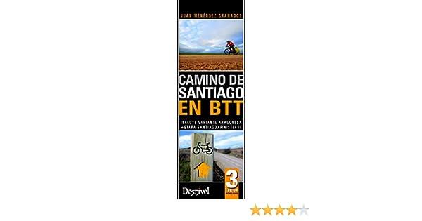 Camino de Santiago en Btt (Travesias En Btt): Amazon.es: Menéndez ...