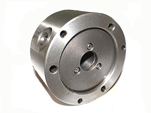 """3MT 3/"""" 3 Jaw Precision Lathe Chuck with MT3  Shank Non-Rotating"""