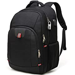 Laptop Backpack Mens with USB Charging Port Multifunction Business Backpack Daypack School Backpack for Mens Ladies Men Student Boy                              Backpack Feature:                     Soft material: laptop backp...