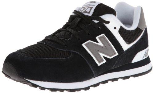New Balance KL574 Pre Running Shoe (Little Kid),Black,11.5 M US Little Kid ()
