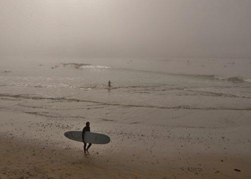 Santa Sunrise (Sunrise Santa Cruz Surfer)