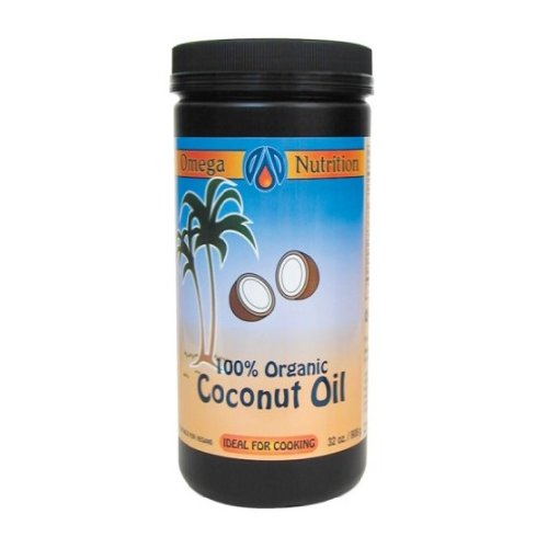 Coconut Oil  Certified Organic  Refined  908G  Brand  Omega Nutrition