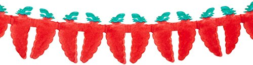 Chili Pepper Garland Party Accessory (1 count)