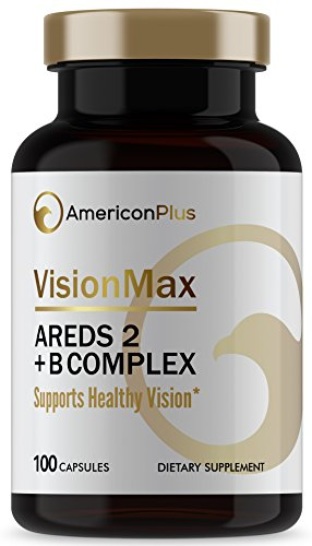 AREDS2 Macular Health Vitamins Plus B Multivitamin for Macular Health. VisionMax, Vision Supplement, 100 Capsules