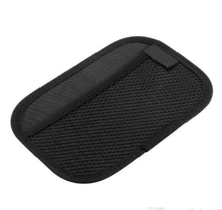 TRUE LINE Automotive Car Door Net Seat Visor Organizer Pocket Phone Storage 2 Pieces